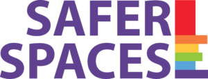 Safer Spaces Purple Logo